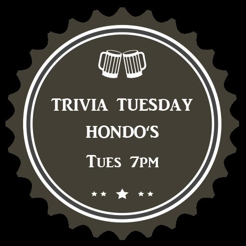 Hondos Trivia Tusday